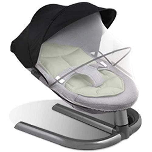 Juguetes para bebés Silla Mecedora recién Nacida Silla Guarda guardaespaldas Mosquitera Neto Aluminio Base de aleación 0-7 años, D (Color: B)