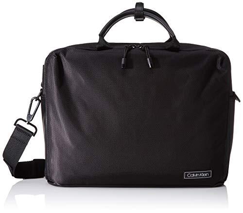 Calvin Klein Revealed Laptop Bag - Borse organizer portatutto Uomo, Nero (Black), 0.1x0.1x0.1 cm (W x H L)