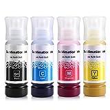 CoYlBod Sublimation Printer Sublimation Ink for ET-2720 ET-2760 ET-4750 ET-4760 ET-3710 ET-2700 ET-2750 ET-3700 ET-3750 ET-7700 ET-7750 ET-4700 ET-15000 Heat Press Transfer on Mugs, Phone Cases