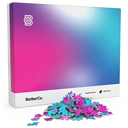 BetterCo. Gradient Jigsaw Puzzle 1000...