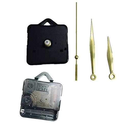 100sets/Lot Wall Clock DIY Repair Tool Gold Hands 18mm Quartz Clock Movement Mechanism Parts Kit Replacement Essential Tools