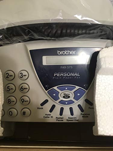 Brother Personal FAX-575 Fax Machine (Renewed)