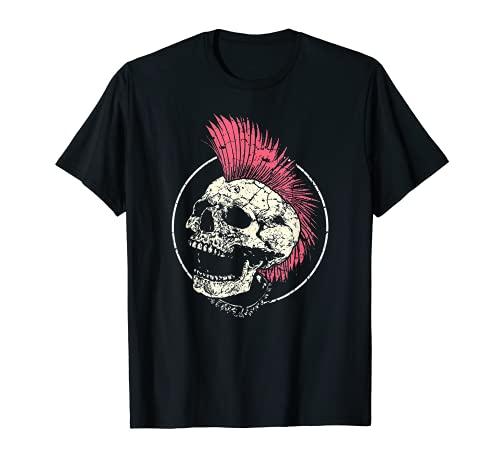 Punk Musik Retro Punker Rock Konzert T-Shirt