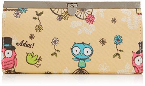 Tiny Love - Pembleton Owl Metal Clasp Wallet, Portafoglio da Donna