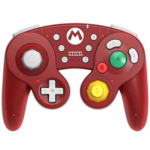 Nintendo Switch Wireless Battle Pad (Mario) Gamecube Style Controller - Nintendo Switch