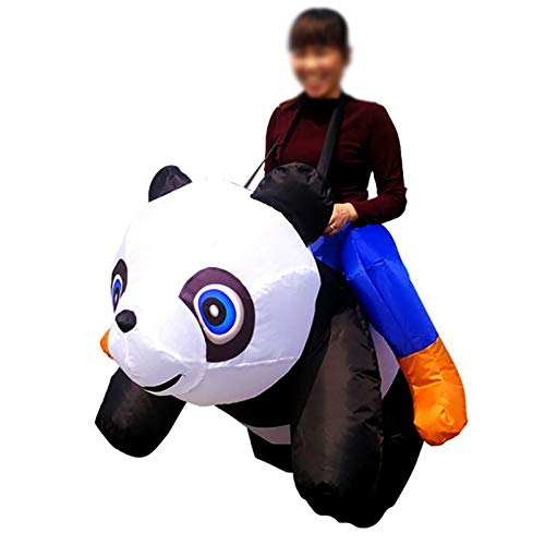 GAOFANG Süßer Panda Aufblasbares Kostüm für Teenager, Blow Up Suit,A1,150 to 190cm