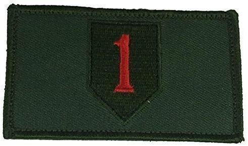 Embroidered Patch - safety Patches for Women 1ST First Recommended In Man US Army