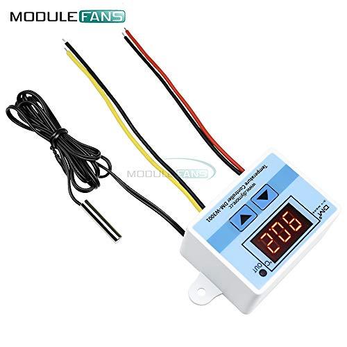 220V AC 10A XH-W3001 digitaler LED-TemperaturRegler für den Arduino Kühl Heiz Schalter Thermostat + NTC Sensor