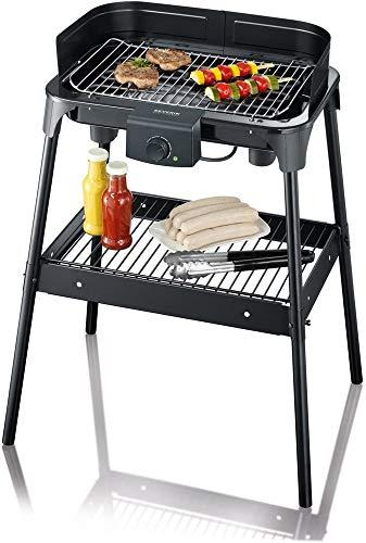 Severin PG8532 Barbecue-Grill, Nero