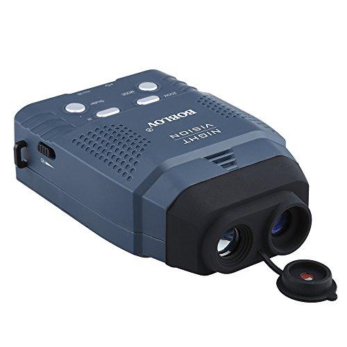 BOBLOV Digital Night Vision Monocular 5x32 Optics Scope Night Vision Infrared Monoculars with 16GB Card for Hunting Observe (2X)