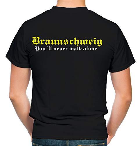 Braunschweig Kranz T-Shirt | Liga | Trikot | Fanshirt | Bundes | M2 (XL)