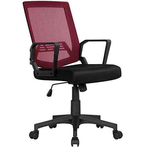 Ergonomic Computer Mesh Executive Office Chair Now $38.49