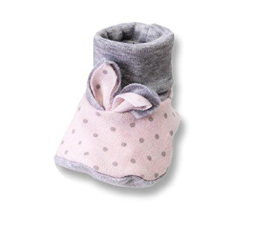 Seruna Baby-Schuhe Hs03 Gr. 16 Hausschuh-e für Babies Mädchen und Jung-s zu Taufe-n und Hochzeit-en