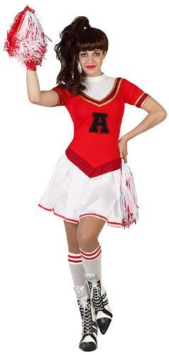 Atosa - 23011 - Costume - Déguisement De Pom-pom Girl - Adulte - Taille 1