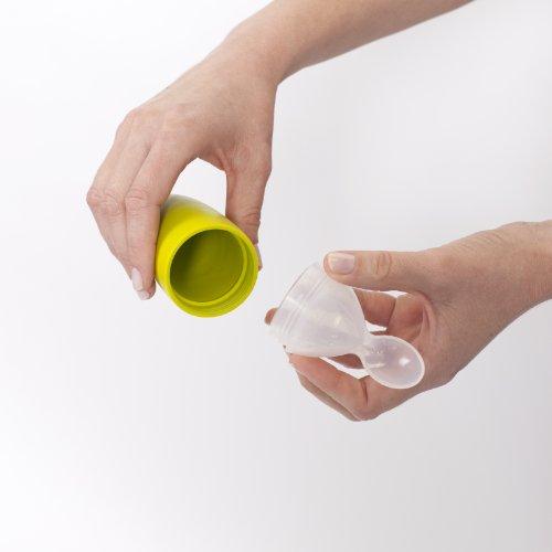 Boon Cuchara Dispensadora de Silicona Verde (BIZAK...