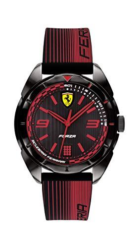 Scuderia Ferrari Reloj para de Cuarzo con Correa en Silicona 840034