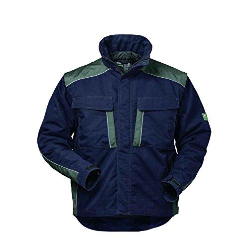 Elysee Canvas Winterjacke Arbeitsjacke Outdoorjacke, hochwertig mit vielen Taschen (S, Marine/Grau)