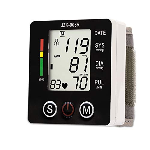 XGuang Home Intelligent Precision sphygmomanometer Automatic Wrist Electronic Health Monitoring Blood Pressure Monitor Best Gift for Parents