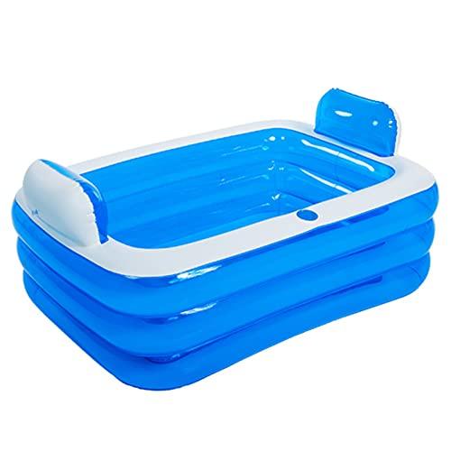 Ertertre, vasca da bagno gonfiabile, vasca idromassaggio, vasca da bagno spessa a 3...