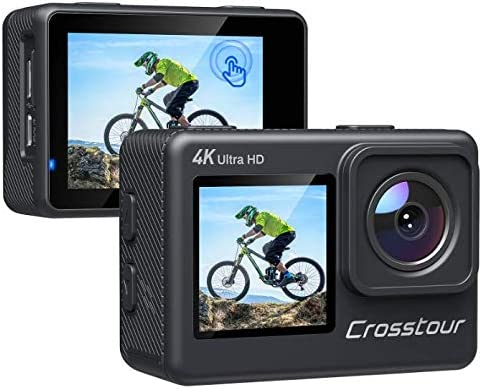 Colorado Springs Mall Action Camera 4K 24MP Dual Touch 4X Max 82% OFF with Z Underwater Cam Screen