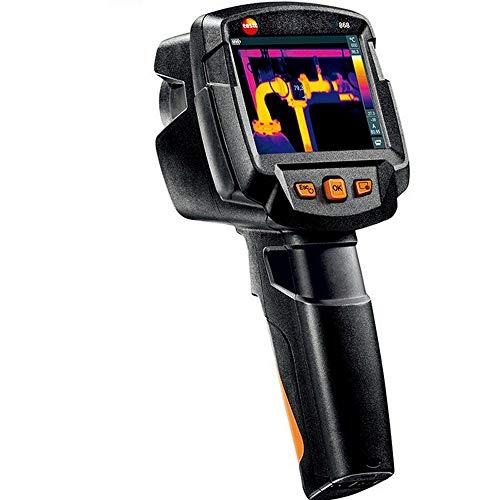 Testo warmtebeeldcamera 868 infrarood beeldresolutie 19.000 temperatuurmeetpunten voor nauwkeurige thermografie infraroodcamera in zakformaat met real-time warmtebeeld