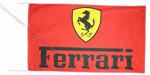 Beautiful Flag Wunderschöne Fahne Ferrari 2018 Fahne Banner 91,4 x 152,4 cm