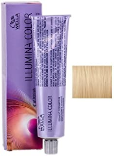 Wella Illumina Permanent Creme Hair Color, 9/03 Very Light Blonde/Natural Gold, 2 Ounce by Wella