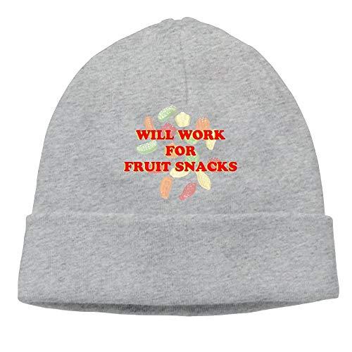 SDLZIJFGHBC Mens Will Work for Fruit Snack Elastic Street...