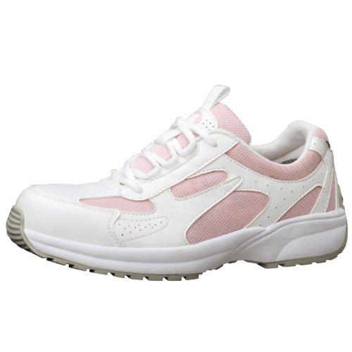 [ミドリ安全] 安全作業靴 JSAA認定 女性用 プロスニーカー SL602 ピンク JP 24.5(24.5cm)
