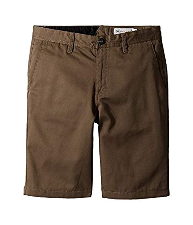 ボルコム Volcom Kids キッズ 男の子 ショーツ 半ズボン Mushroom Frickin Chino Shorts (Big Kids) 23(10SlimBigKids) [並行輸入品]