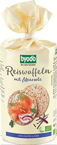 Byodo Bio Reiswaffeln mit Meersalz (2 x 100 gr)