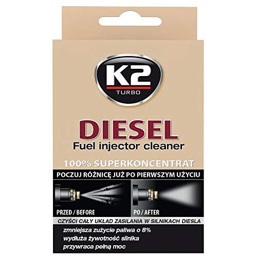 K2 Moteur Diesel Système nettoyant d'injecteur avec additif supplémentaire