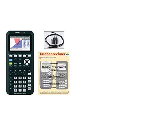 Texas Instruments TI-84 Plus CET + Fachbuch + Ladegerät