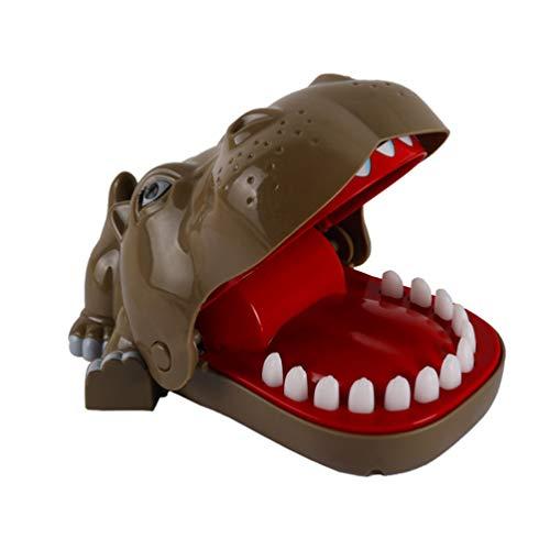 STOBOK Beißen Finger Spielzeug Nilpferd Krokodil Zähne Spielzeug Nilpferd Klassische Zahnarzt Spiele Neuheit Spielzeug Partei begünstigt Familienaktion Spaß Spiel