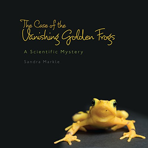 The Case of the Vanishing Golden Frogs audiobook cover art