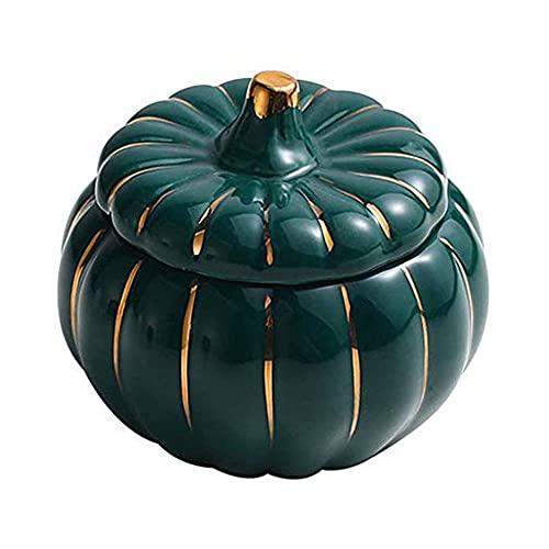 YIBOKANG Pentola in ceramica con coperchio, casseruola di zucca, resistenza ad alta temperatura, ideale per cucinare classica, vaso di zuppa sana (Dimensione : 350ml)