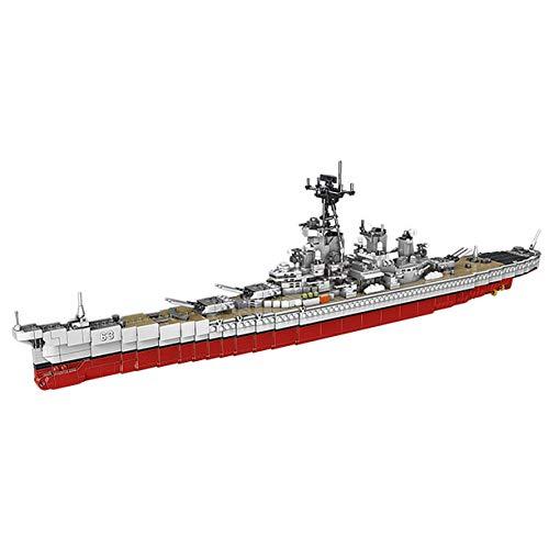 XINGBAO New 06030 2631PCS Military Army Series The USS Missouri Battleship Set Building Blocks Classic Cruiser Model Bricks WW2 Toys Adult Toys