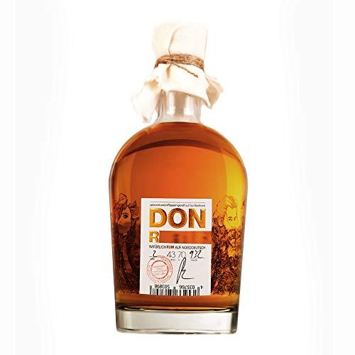 Don R***   1 x 0,7l   Deutsche Manufaktur Rum   BIO   Feingeisterei   Vanille   karamellisierten Mandeln   Creme Bruleé   Tabaknoten