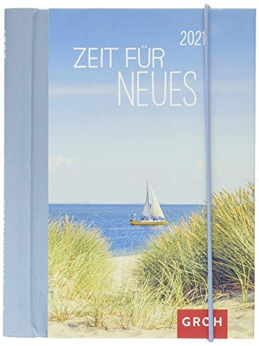 Zeit für Neues 2021: Wochenkalender mit 12 Postkarten (Terminplaner für die Handtasche)