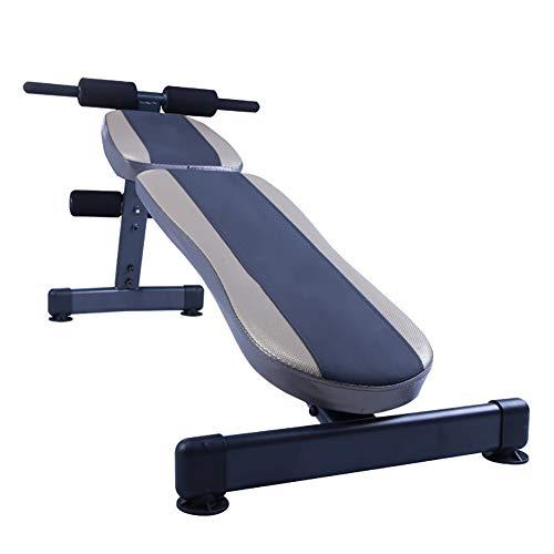 Verstellbare Hantelbank, Schrägbank für das Bauchmuskeltraining, Gebogene Bauchbank für Heimübungen, Abdominalbank für mehrere Trainingseinheiten