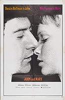 キャンバスに映画ポスタージクレープリント - 映画ポスター複製壁の装飾(ジョンとメアリー2) #XFB