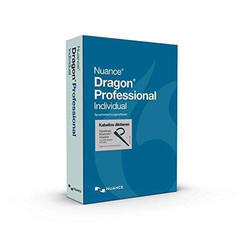 Nuance Dragon Professional Individual (Wireless inkl. Bluetooth Headset)
