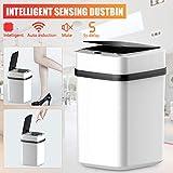 Dyna-Living Sensor Mülleimer Küche Bad 10L, Sensor Automatik Abfalleimer mit Geruchdichtem Deckel - 6