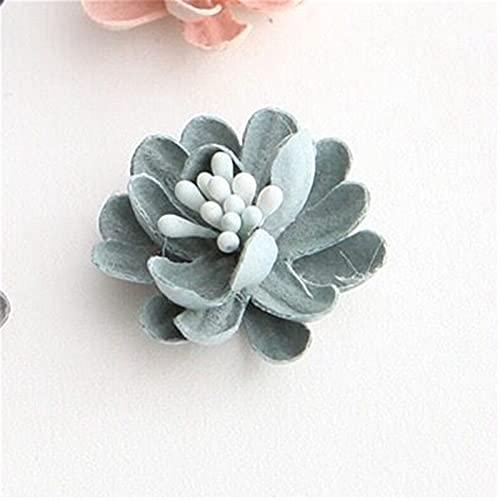 Diademas 8 unids flores apliques vestido decoración parches ropa flor parche para vestir ropa de pelo bricolaje suministros de artesanía (Color : Color 2)