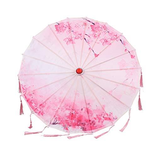 SHENAISHIREN Sonnenschirm, Regenschirm Wind- und Spitze-Sonnenschirm-Regenschirm for Damen Hochzeit Festival im Freien, Tanzen Props Sonnenschirm, (Color : E)
