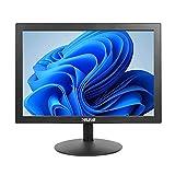 Thinlerain - PC Monitor 15,4 Pollici con HDMI VGA, 1400 × 900 LED schermo per, PC, Computer, Raspberry Pi Windows 7/8/10 (60Hz, 5ms, VESA, TN, altoparlanti integrati)