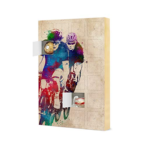 artboxONE Advent Calendar with Ferrero chocolate Two bikers Travel Christmas Calendar