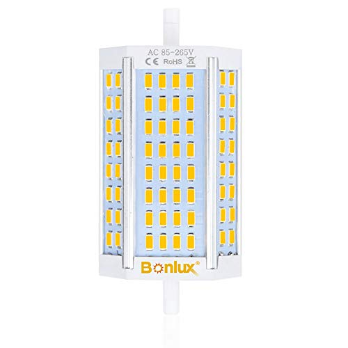 Bonlux Regulable 30W R7s J118 118mm Led Bombilla con 3000 Lúmenes De