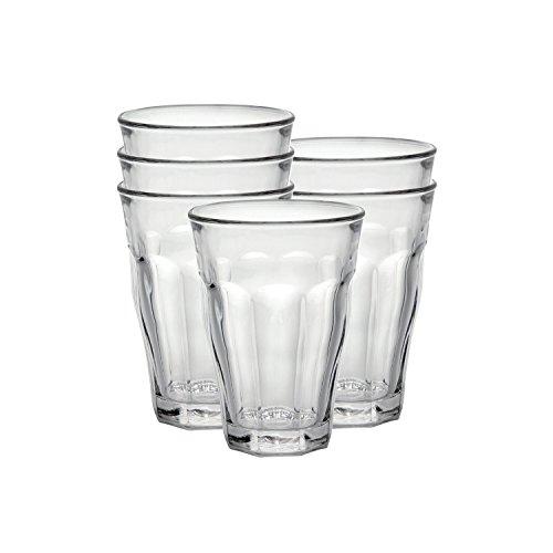 Set of 18 glasses - 6 x 8,5oz - 6 x 12,2oz - 6 x 17oz