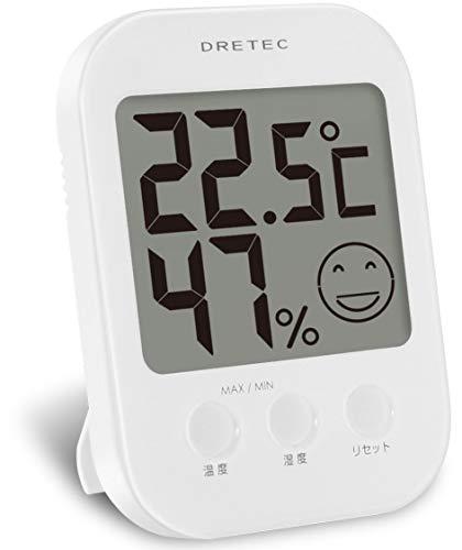 ドリテック デジタル温湿度計 オプシス O-230